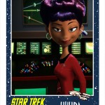 E-UHURA_PIXAR (What Happens When A Pixar Illustrator Toonifies Star Trek TOS)