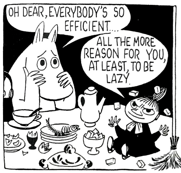 moomin-efficient